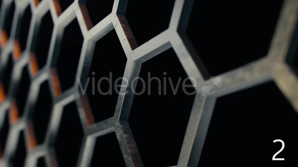 Honeycomb Metal Structures - Download Videohive 14845892