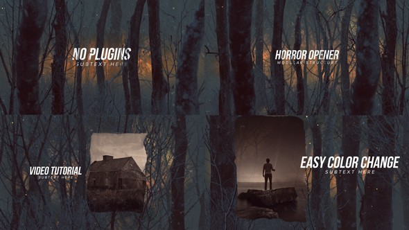Horror Opener Titles - Download Videohive 22663563