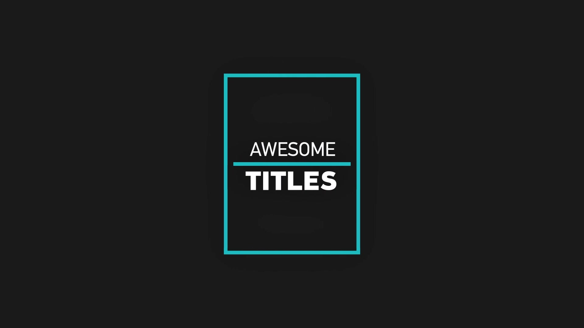 Huge Titles and Typography pack - Download Videohive 20833044