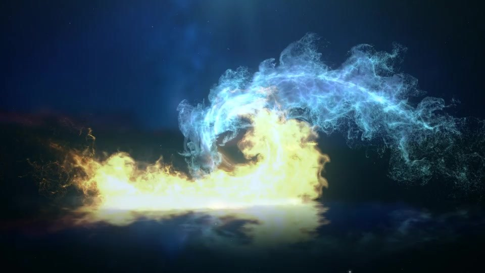 Ice And Fire Logo - Download Videohive 19847721
