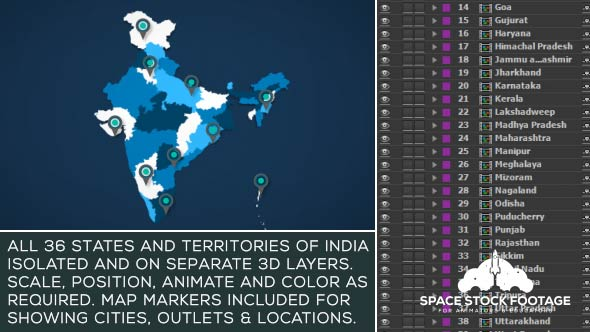 India map kit download videohive 17765704 gumiabroncs Images