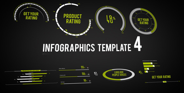 Infographics Template 4 - Download Videohive 2635009