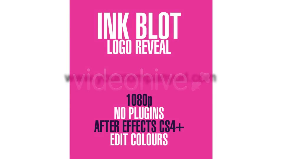 Ink Blot Logo Reveal - Download Videohive 3129598