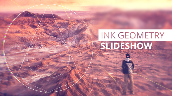 Ink Geometry Slideshow - Download Videohive 17889041