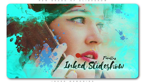 Ink Memories Parallax Slideshow - Download Videohive 20018012