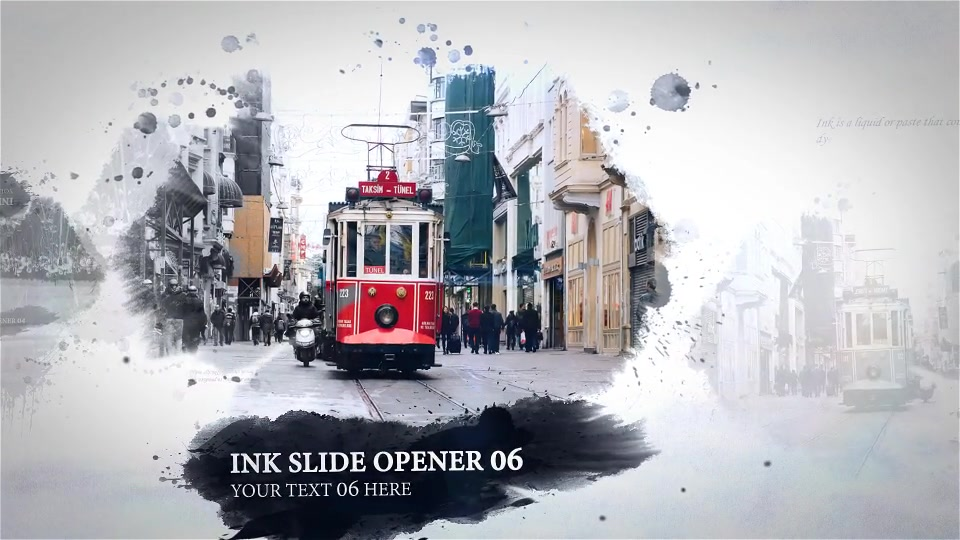 Ink Slide Opener - Download Videohive 13827273