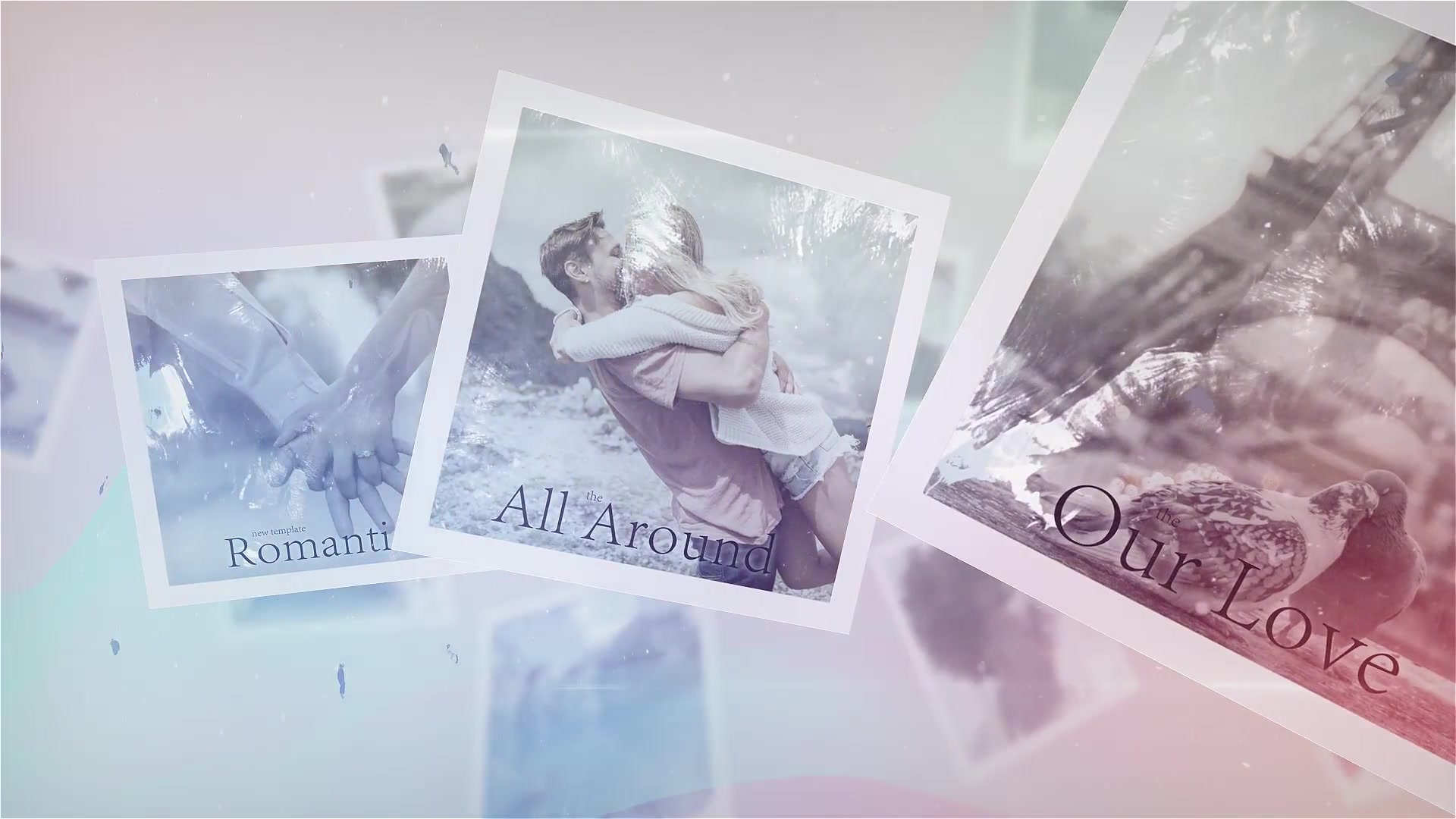 Inked Flying Photo Slides - Download Videohive 22403101