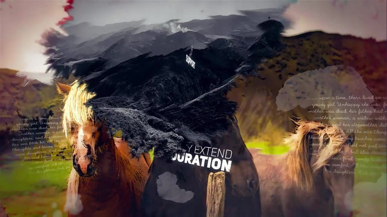 Inks Parallax Slideshow - Download Videohive 19237631