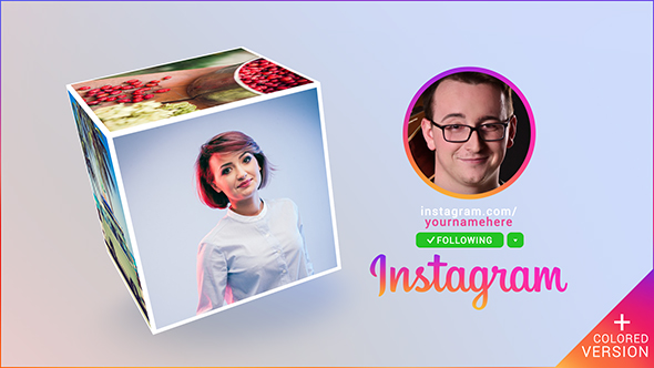 Instagram Promo Cube Gallery - Download Videohive 19494184
