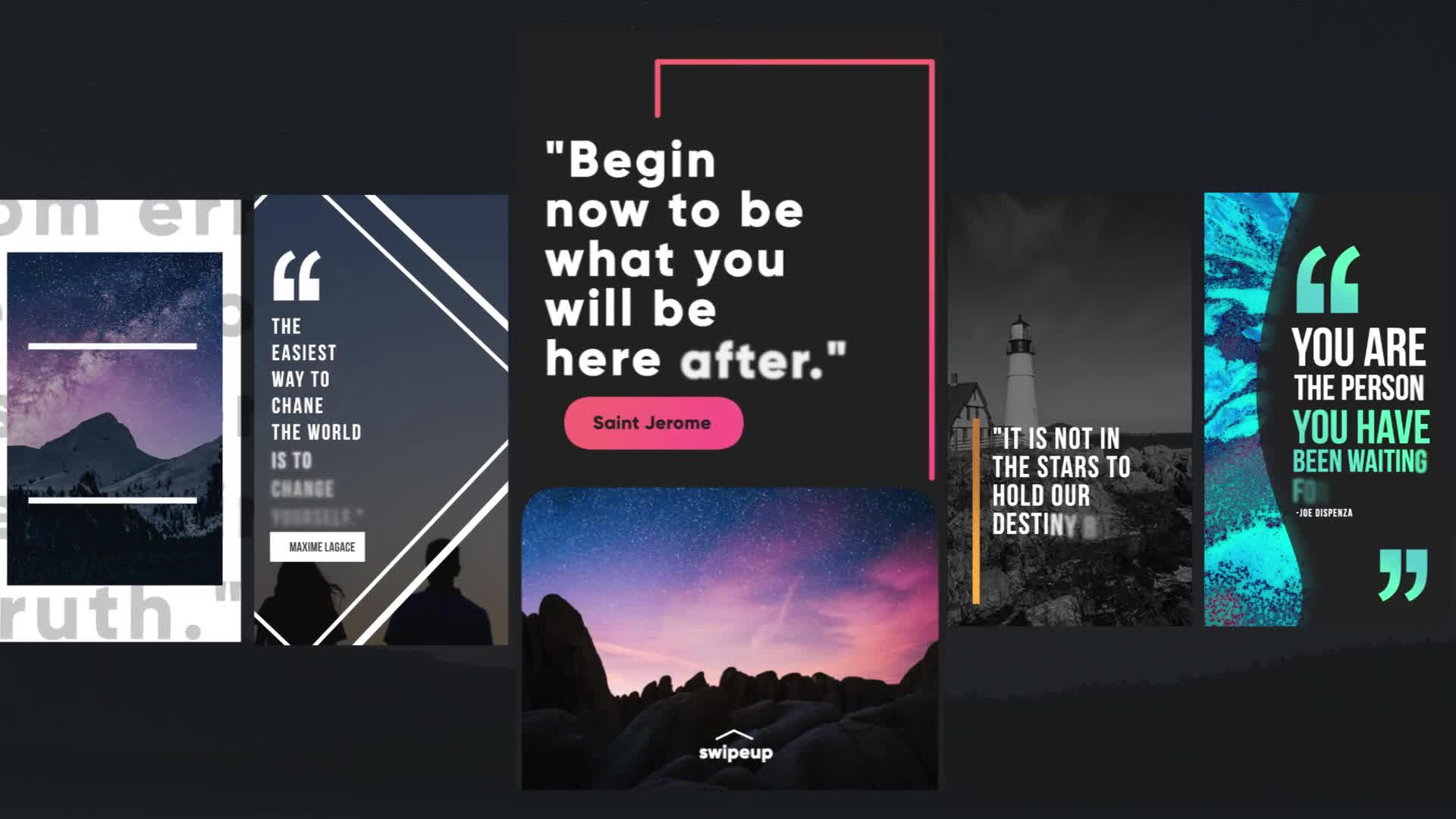 Instagram Quotes Stories Videohive 26117096 Apple Motion Image 1