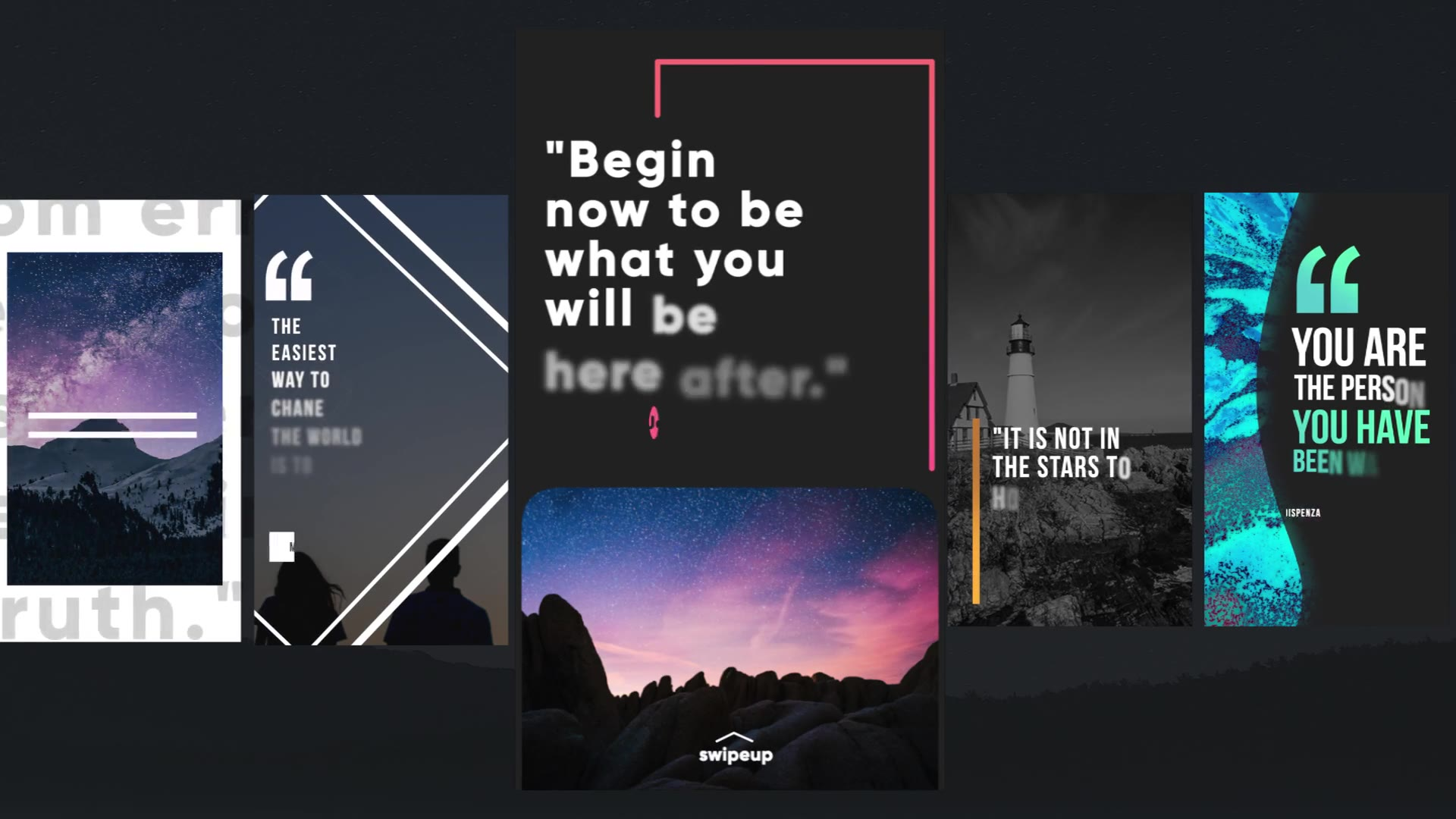 Instagram Quotes Stories Videohive 26117096 Apple Motion Image 10