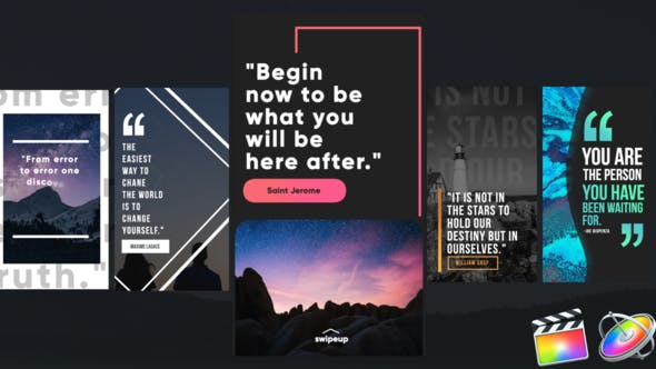 Instagram Quotes Stories - Download Videohive 26117096