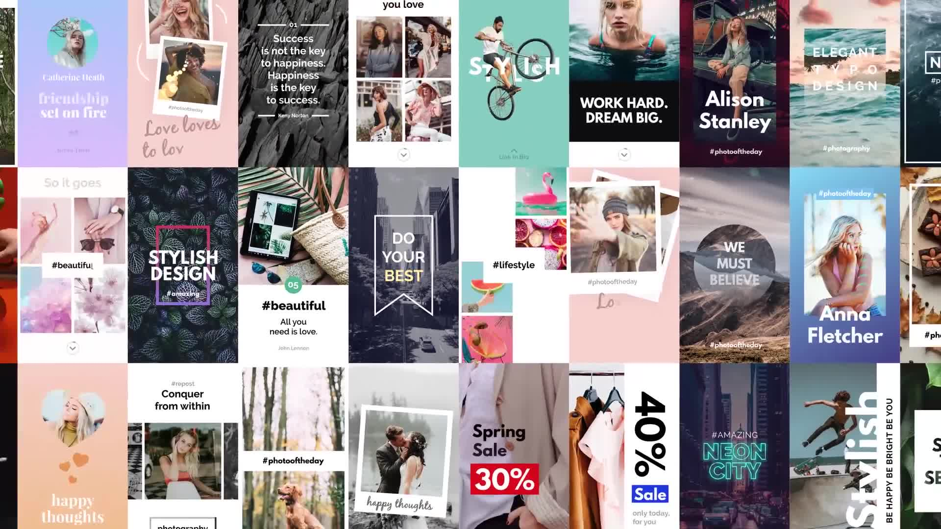 Instagram Stories Pack | Vertical and Square - Download Videohive