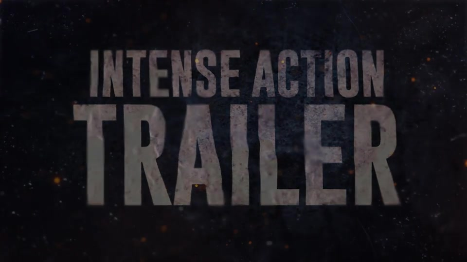 Intense Action Trailer - Download Videohive 13982319