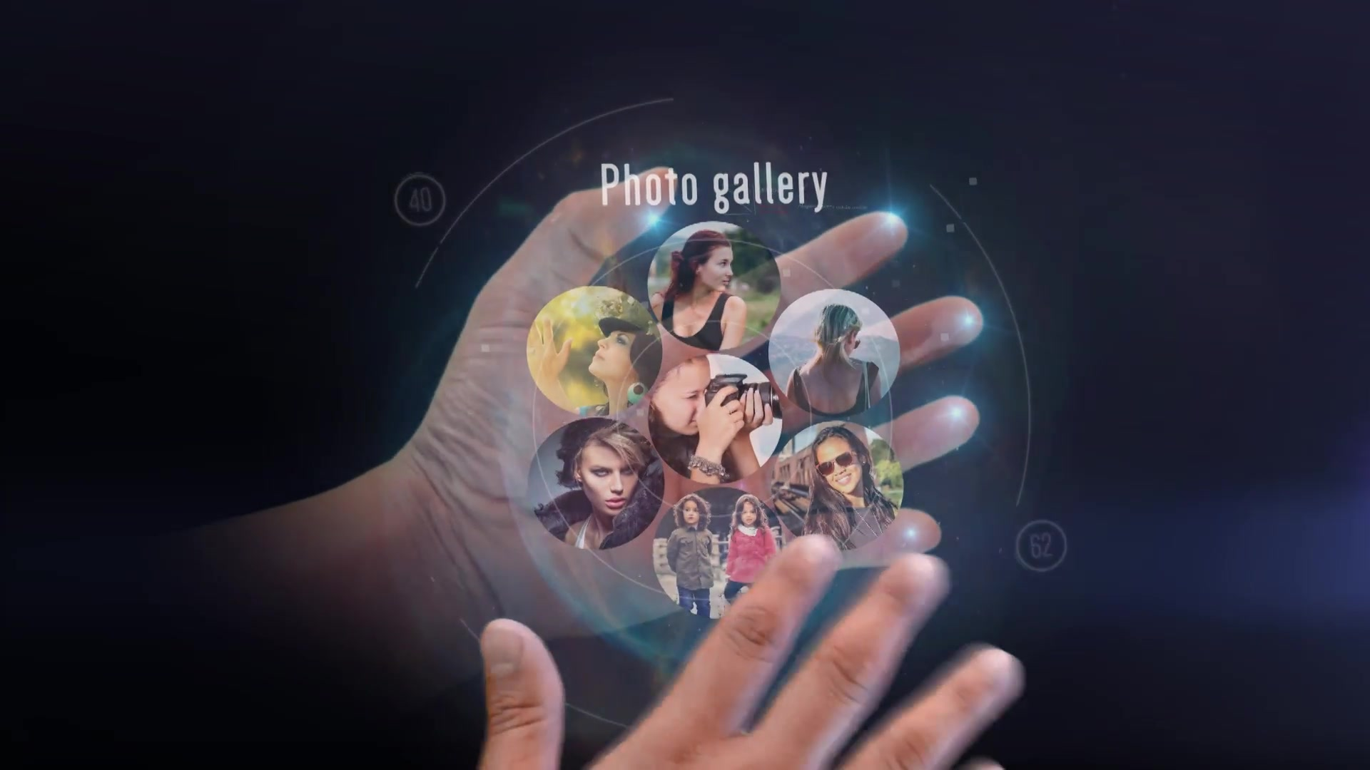 Interactive Hand Hologram Opener - Download Videohive 19419859