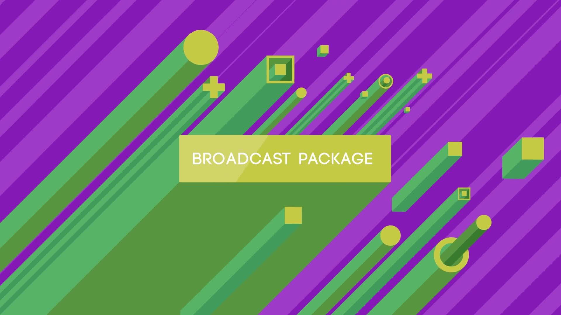 Isometric Broadcast Package - Download Videohive 7264233
