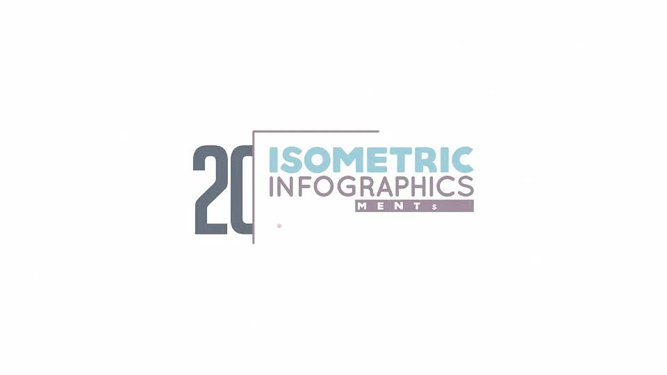 Isometric Infographics Bundle - Download Videohive 19743356