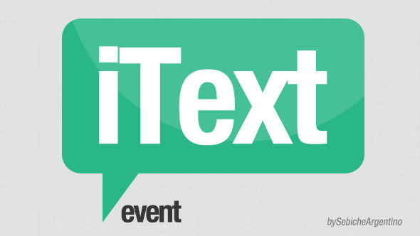 iText Event - Download Videohive 5248973
