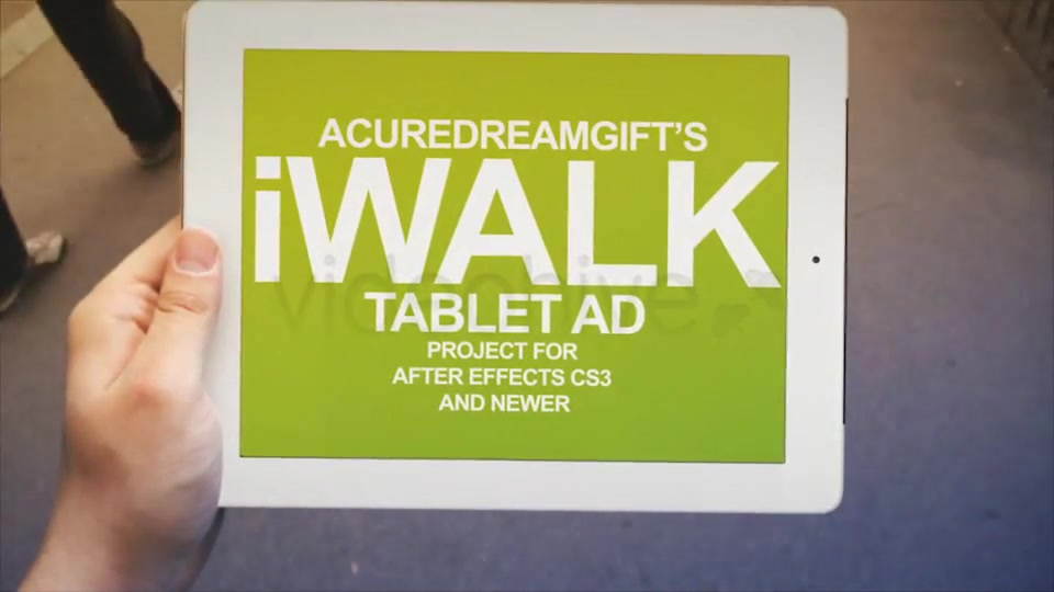 iWalk Tablet Ad - Download Videohive 3940405