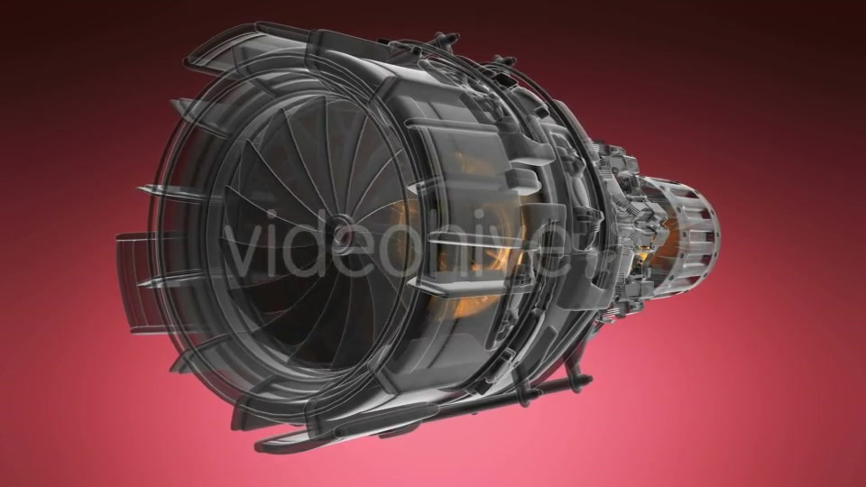 Jet Engine Turbine - Download Videohive 19290291