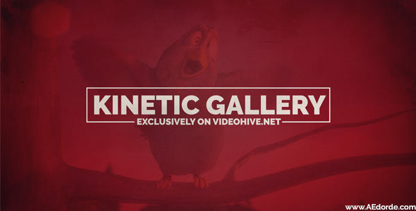 Kinetic Gallery - Download Videohive 16692200