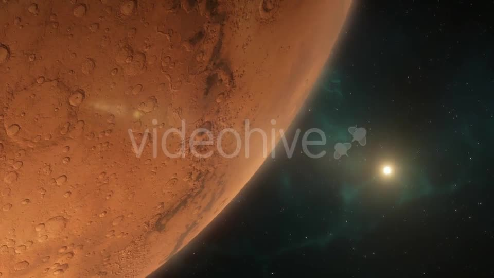 Lander Approaching Mars - Download Videohive 16354671