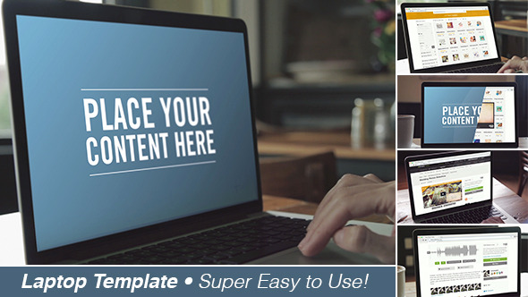 Laptop Screen Template - Download Videohive 11608190