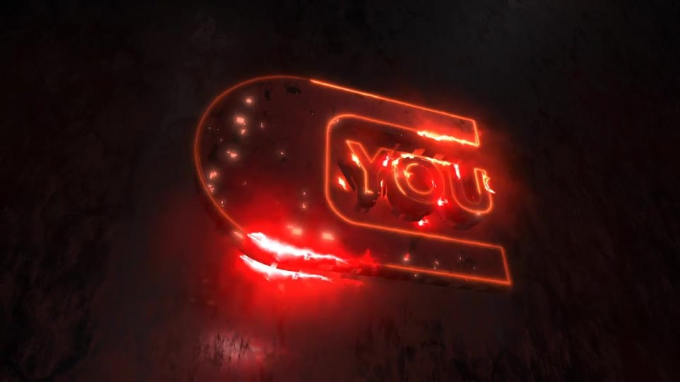 Light Flash Neon Energy Logo - Download Videohive 17938158