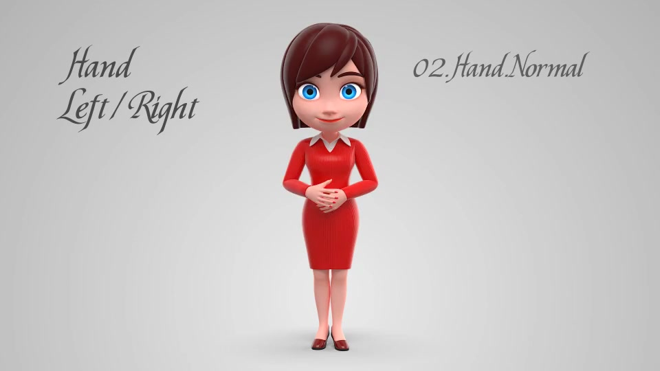 Lily Character Animation Kit - Download Videohive 19250024