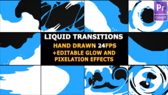 Liquid Transitions - Download Videohive 22880009