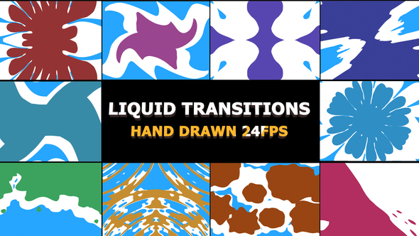 liquid Transitions Pack - Download Videohive 22658572