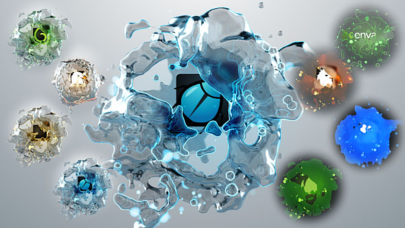 Liquids Quick Logo Pack 3 - Download Videohive 18591301