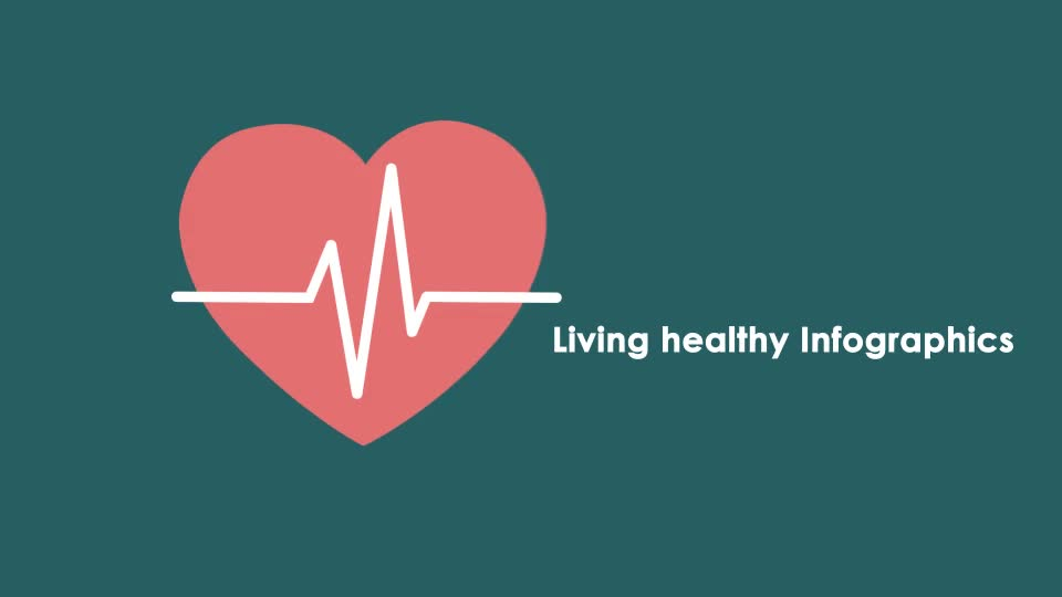 Living Healthy Infographics - Download Videohive 7395697