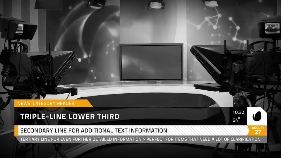 Local News Elements Lower Third Package - Download Videohive 15860854