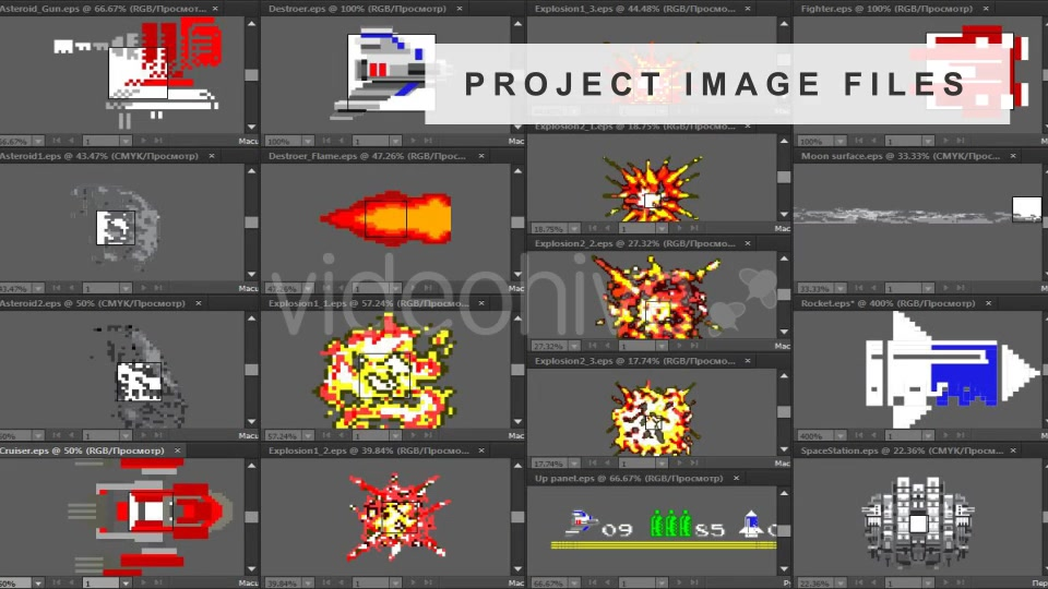 Logo Arcade Game 8 Bit - Download Videohive 15874307