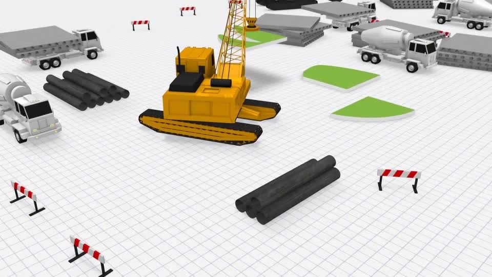 Logo Construction Architecture Videohive 23301148 After Effects Image 1