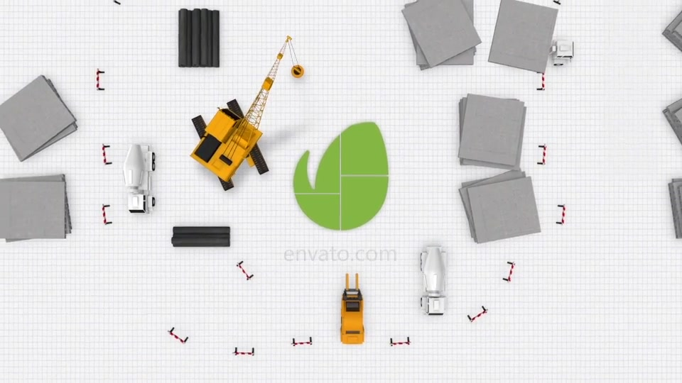 Logo Construction Architecture Videohive 23301148 After Effects Image 4