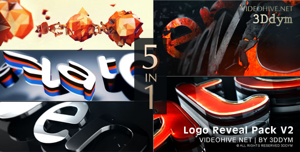 Logo Reveal Pack V2 - Download Videohive 17344059