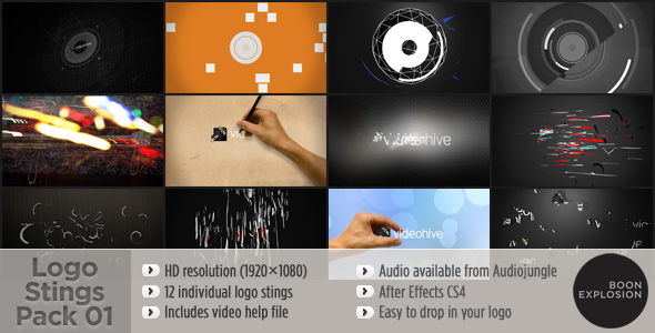 Logo Stings Pack 01 - Download Videohive 168747