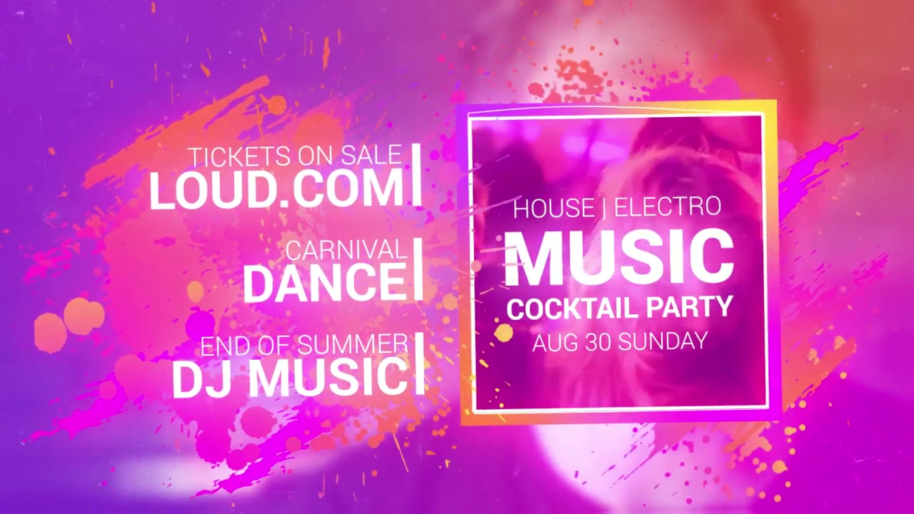 Loud Event Promo - Download Videohive 12612621