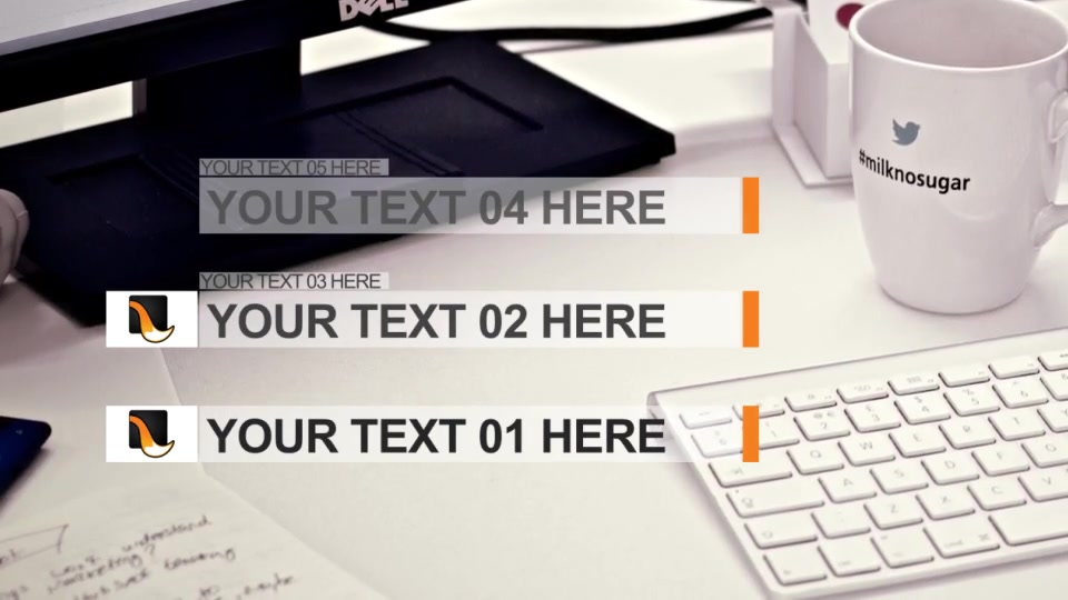 Lower Thirds 30 - Download Videohive 9516458