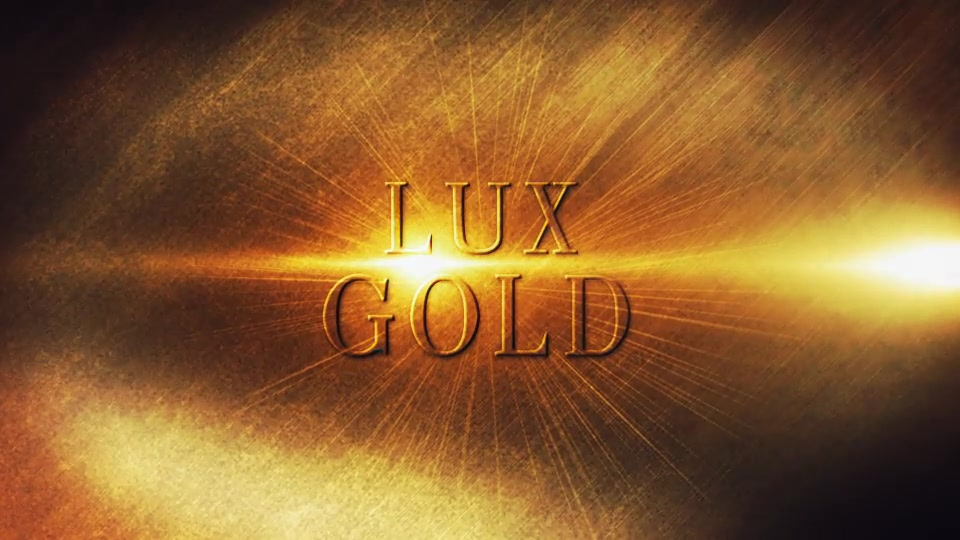 Lux Gold - Download Videohive 12250485