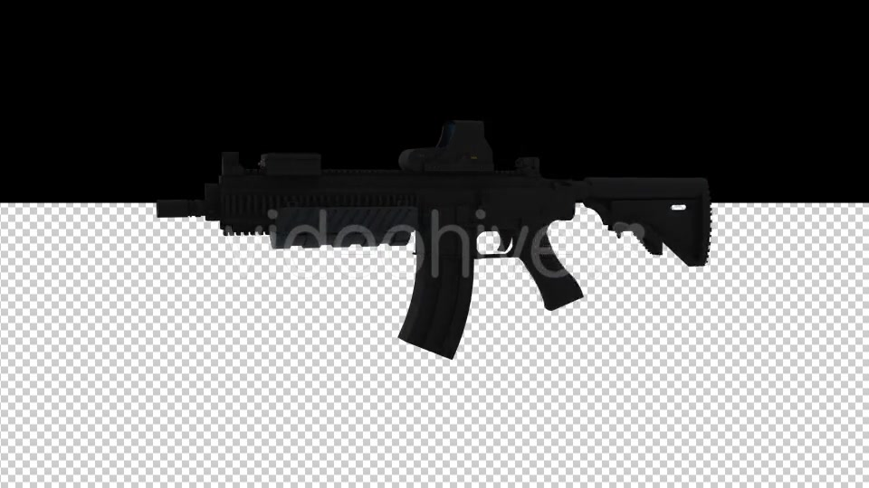 M416 German Assault Rifle - Download Videohive 17190799