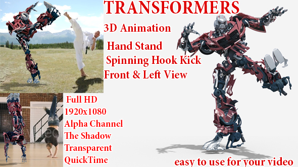 Machine Transformers Sports - Download Videohive 21312757