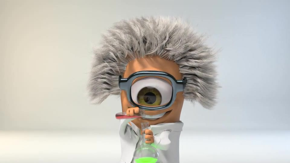 Mad Scientist Logo - Download Videohive 8998526
