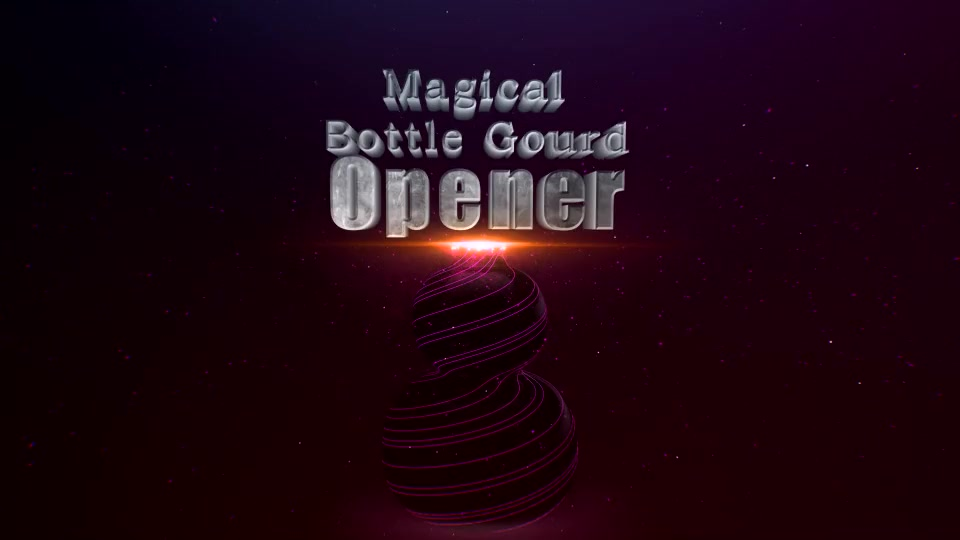 Magical Bottle Gourd Opener - Download Videohive 14277441