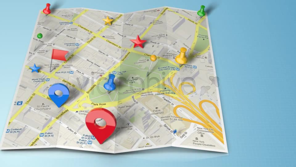 map generator with real 3d markers download videohive 4453667