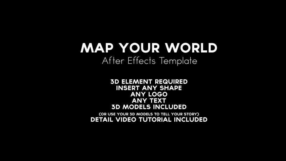 Map your world download videohive 9694598 gumiabroncs Images
