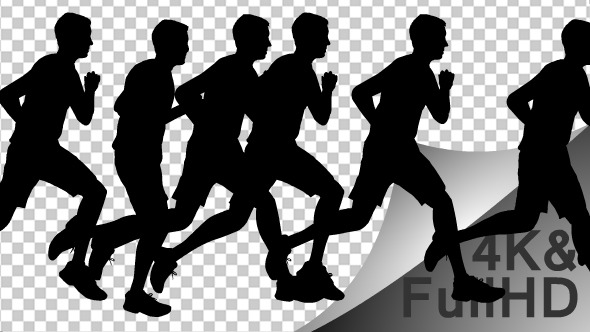Marathon Silhouettes - Download Videohive 11469840