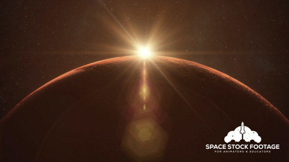 Mars Sunrise - Download Videohive 19345551